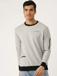 Harbor N Bay Full Sleeve Solid Men Sweatshirt