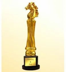 CG 634 Exclusive Gold Plated Trophy