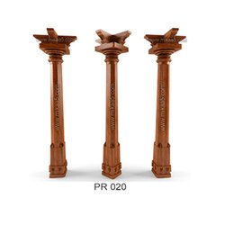 Composite Wooden Pillar