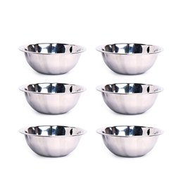 700 ml Stainless Steel Serving Bowls