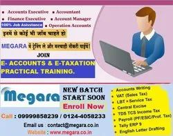 Certification Course Accounts & Taxation Training, 4 Days In A Week