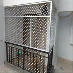 Aluminium Wire Fencing Fabrication Work
