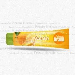 Orange Toothpaste, Packaging Type: Tube