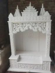 Indoor Pure White Marble Temple