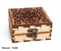 Brown Wooden Jewellery Box, For home