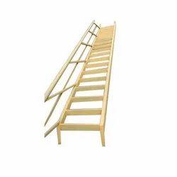 15 Feet (staircase) Straight Run Mild Steel Staircase