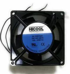 Black Hicool Cooling Fans, Size: Square & Round, 110v To 415v
