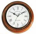 Antique Round Wooden Wall Clock