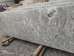 Polished Kuppam White Granite Slab, For Flooring, Thickness: 18 mm