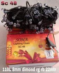 110L LED Decorative String Light  - Diamond