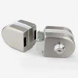CR-GL-02 Glass to Glass Door Lock with Key & Knob