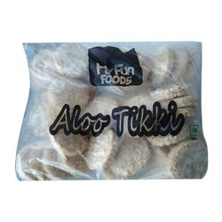 Spicy And Crispy Potato Flavor Alo tikki, Packaging Size: 1.5kg