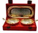 Brass Bowl Gift Set