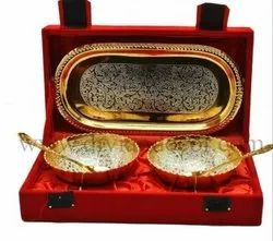 Brass Bowl Gift Set