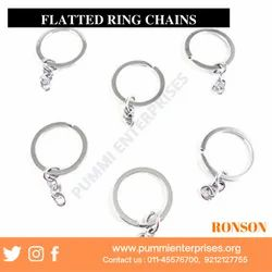 Flatted Key Ring