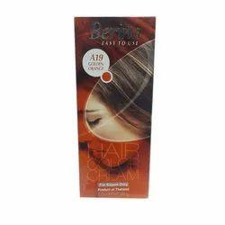 Bernia Berina A19 Golden Orange Hair Color Cream, Box, Packaging Size: 60 G