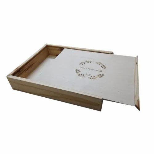 Pinwood And Birchply Wooden Wedding Album Box Size 16x13x2 Inch Rs 1200 Piece Id 22022049997