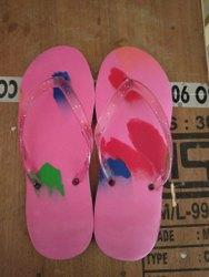 Women Printed Ladies PU Sandal Slippers