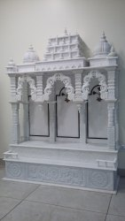 Ram Darbar Pure White Marble Temple