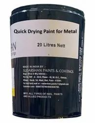 Quick Drying Paint for Metal