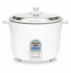 Silver Panasonic Rice Cooker SR-WA 18-J 660-Watt, For Home, Capacity: 4.4 L