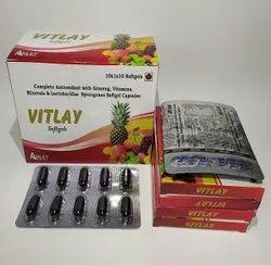 VITLAY SG MULTIVITAMINS & MULTIMINERALS SOFTGEL Capsules