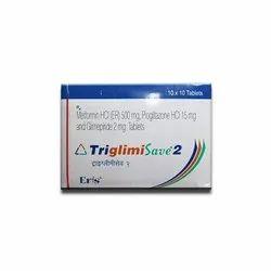 Triglimisave 2 Tablet SR