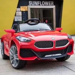Red Bmw Style Ride On Battery Car