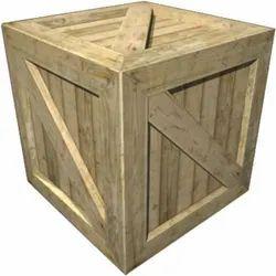28x24x27 Inch Industrial Hardwood Box
