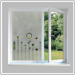 Decorative Window Glass, For Door,Window, Thickness: 5 Mm