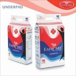 White Easy Care Underpad Diaper