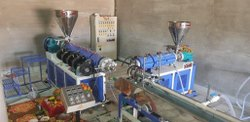 PVC Garden Pipe Plant With Jockey Extruder