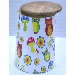 CII-501 Wooden Jar
