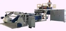 High Speed Air Bubble Extrusions Film Making Machine