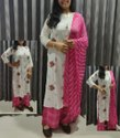 Heavy Reyon Slub Ladies Plazoo Kurti