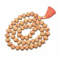 9 Mukhi Indonesian Rudraksha Mala 54 Beads