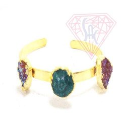 Natural Druzy Bracelet
