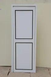 Normal Open Close Matt Finishing PVC Solid Doors, For Bathroom, Interior