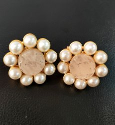 Real Stone Pearl Tops