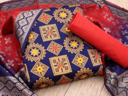 Diseno Indo Jaquard Dress Material unstich -3