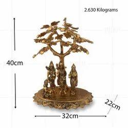 Gold Plated Ramdarbar Tree Big