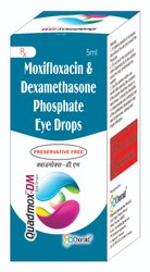 Moxifloxacin 0.5% With Dexamethasone 0.1% Eye Drops (Quadmox-DM)