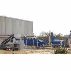 Plastic Waste Washing And Cleaning Plant