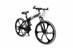 Black Silver Bmw X6 Foldable Cycle