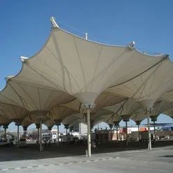Tensile Inverted Cone Tensile Structure