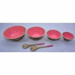 CII-802 Wooden Bowl Set