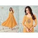 Cotton Anarkali Long Kurti, Wash Care: Machine Wash