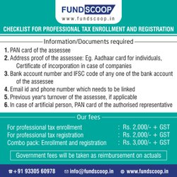 Online Professional Tax Registration Service, in Local
