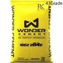 Opc-43 Wonder Cement
