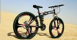 Land Rover Black Foldable Cycle